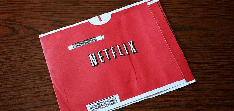 Social Media Merchandise Promotions : DVD Netflix