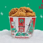 Festive Chicken Buckets : holiday bucket